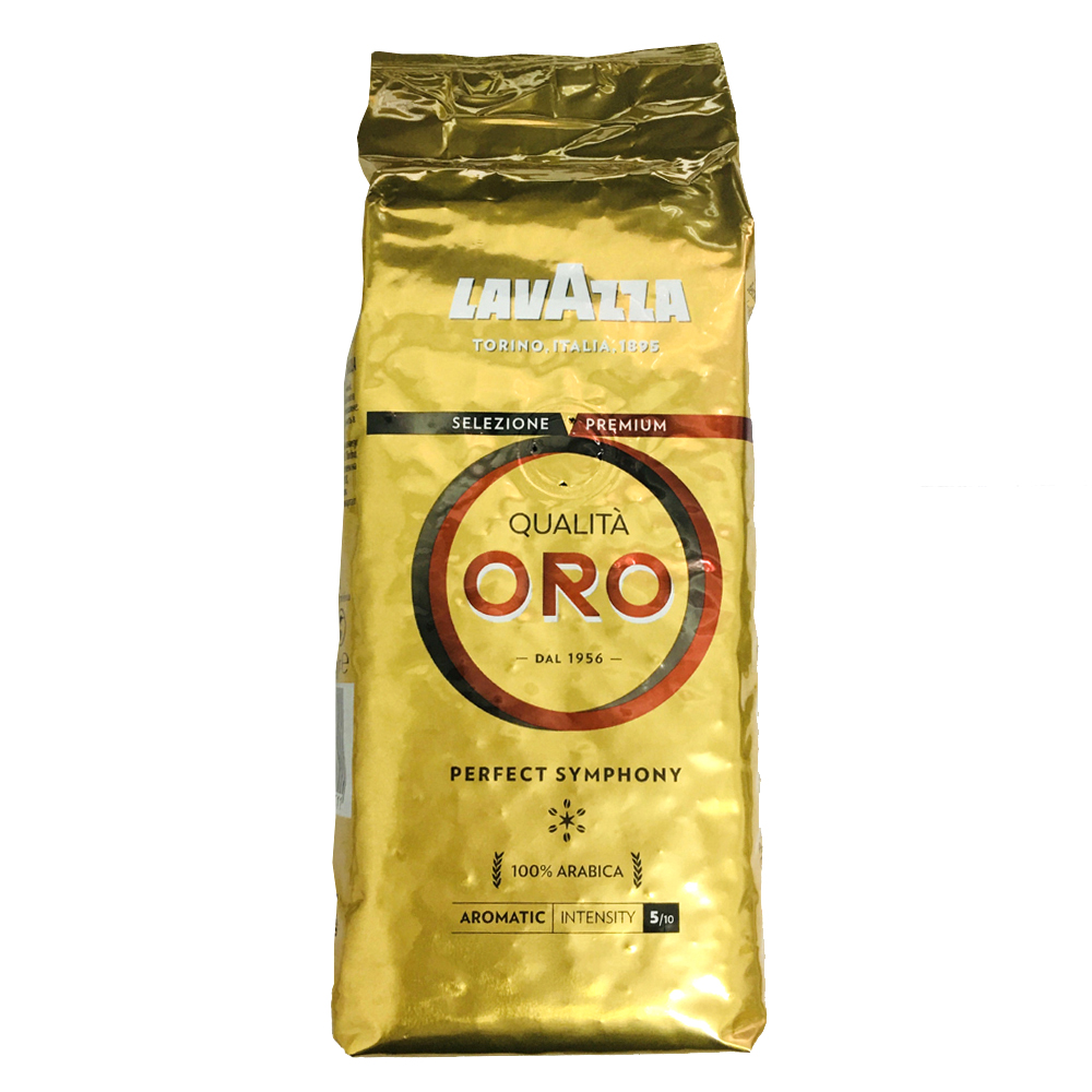 LAVAZZA QUALITA ORO 金牌咖啡豆(鋁箔包2包)