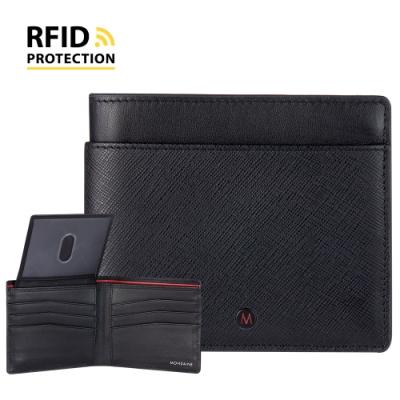 MONDAINE 瑞士國鐵 蘇黎世系列 RFID防盜 ID視窗8卡短夾 (多款任選)