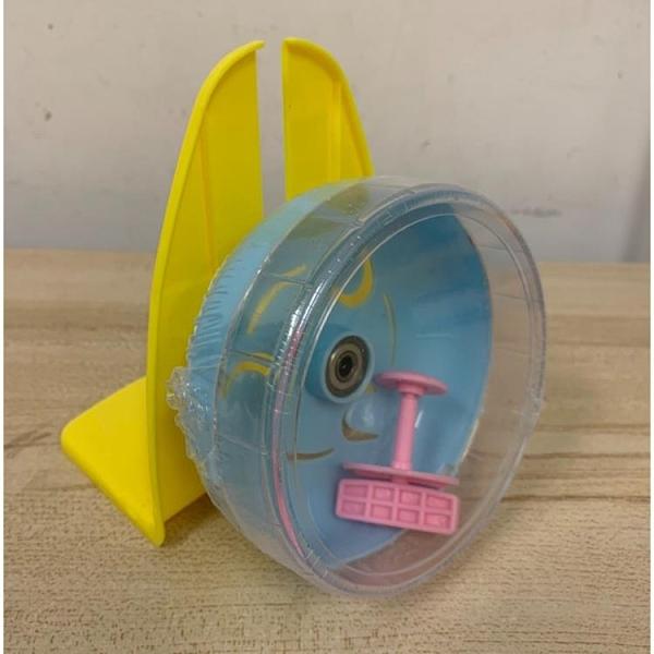 倉鼠黃金鼠玩具跑球跑輪滾輪運動球跑步滾球支架(15公分/777-10564)