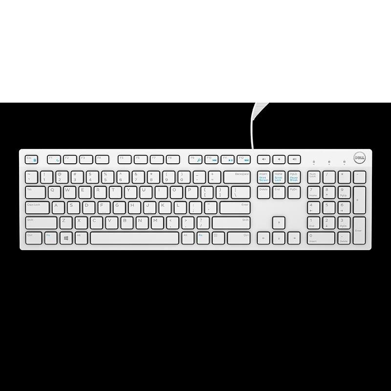 筆記本外接USB鍵盤滑鼠套裝KB216數字小鍵盤
