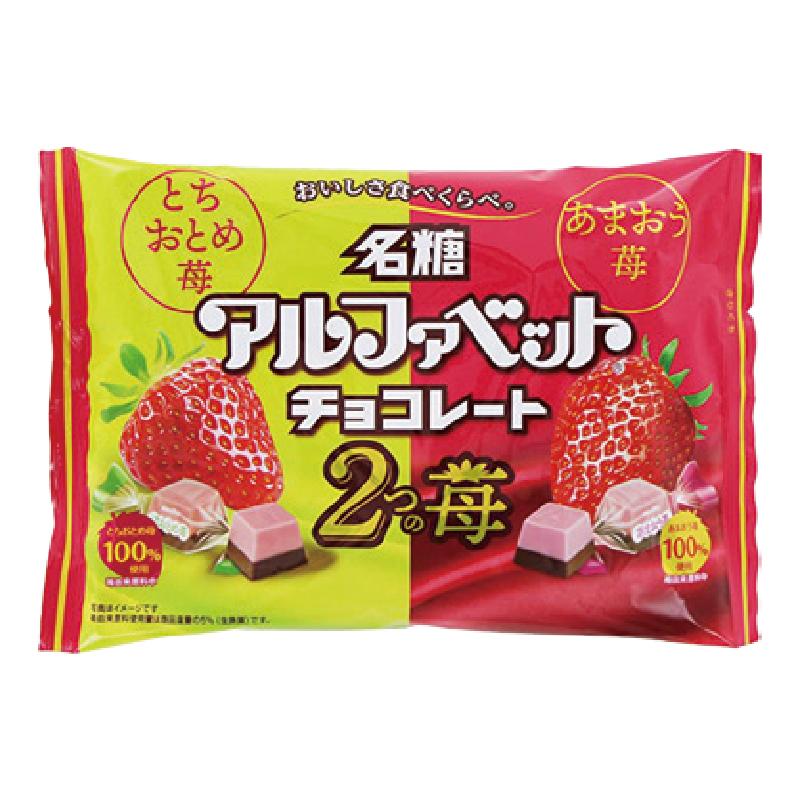Meito 什錦草莓巧克力154g