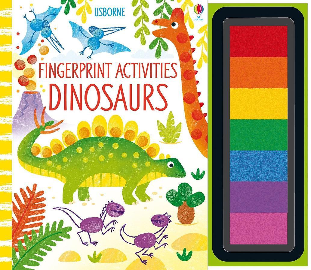 Fingerprint Activities Dinosaurs/Fiona Watt eslite誠品