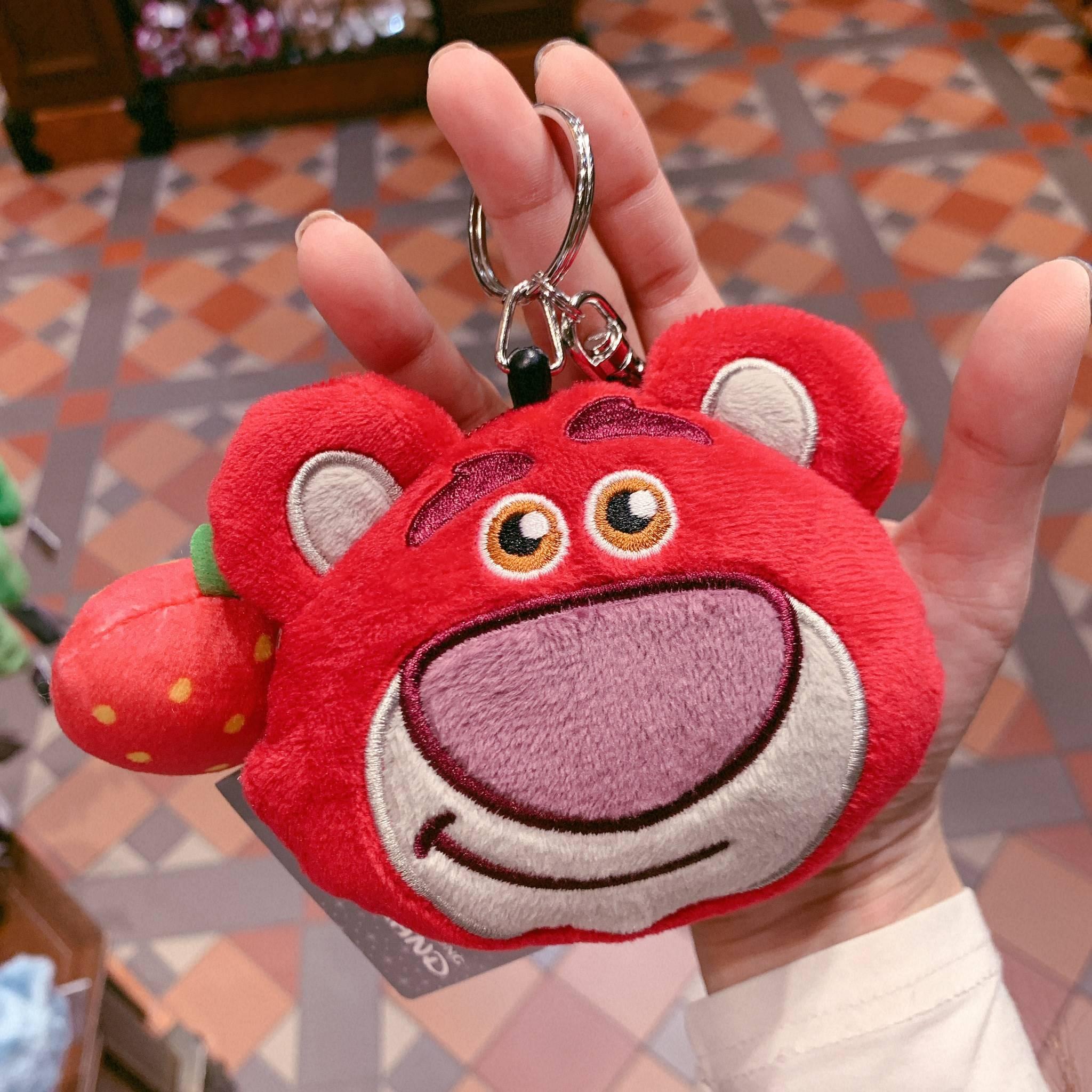 香港迪士尼 史迪奇 伸縮證件 小錢包