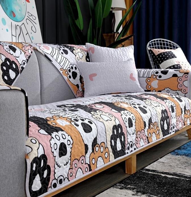 沙發套 沙發墊四季通用萬能防滑北歐沙發套罩可愛簡約靠背坐墊蓋布巾