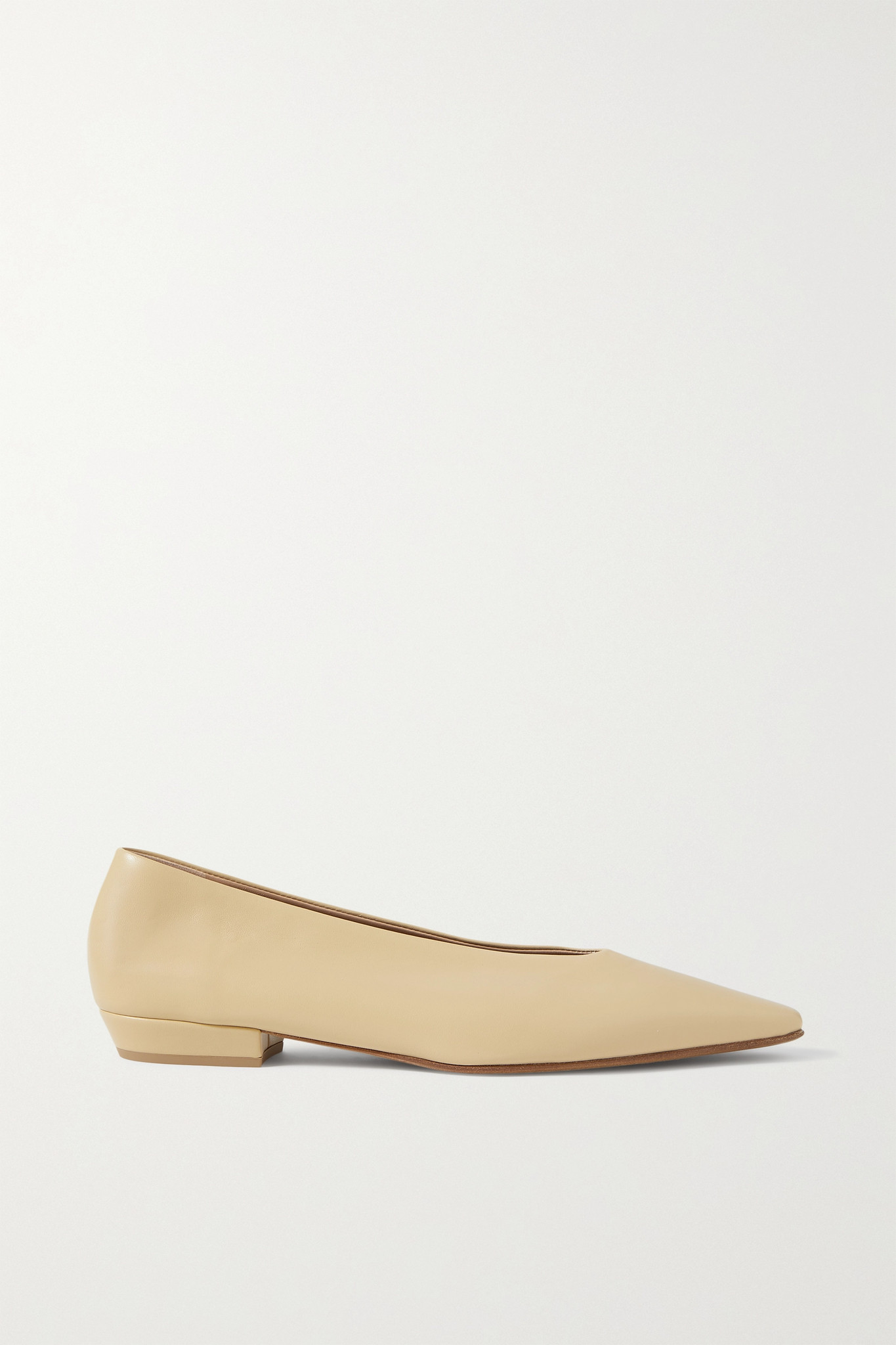 BOTTEGA VENETA - Leather Ballet Flats - Neutrals - IT37