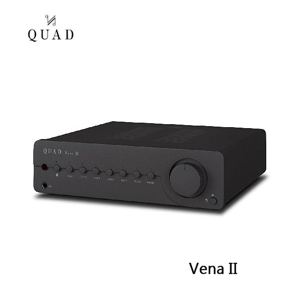 【限時特賣+24期0利率】QUAD 英國 Vena II 藍芽 DAC 綜合擴大機 (普通鐵灰版) 公司貨