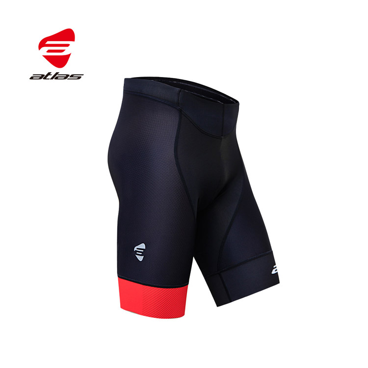 ATLAS 男五分極致經典褲 S-708-R 紅色/30℃~38℃
