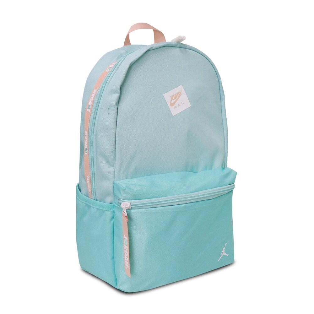 NIKE 後背包 Jordan Backpack 男女款 喬丹 飛人 雙肩背 上學 外出 藍 粉 [JD2123007GS-001]