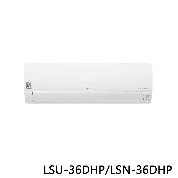 LG 樂金 WiFi雙迴轉變頻空調 旗艦冷暖型 LSU36DHP/LSN36DHP 原廠保固 結帳更優惠 黑皮TIME