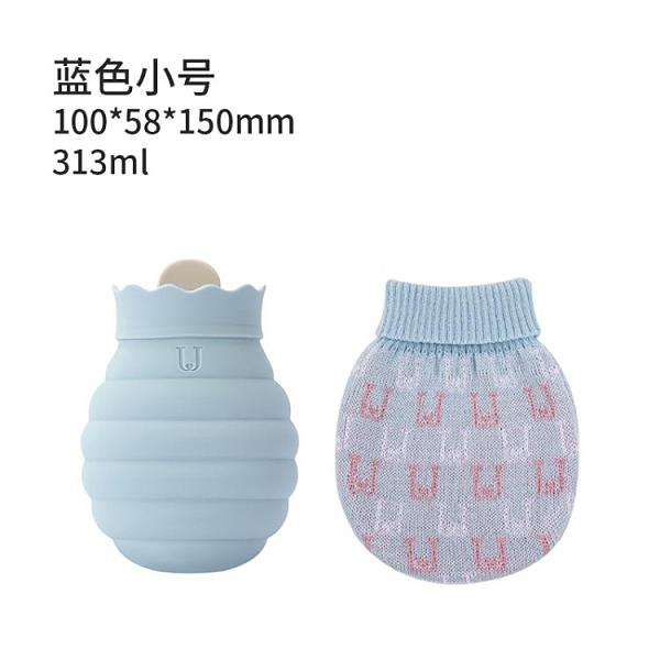 暖手袋暖手寶 硅膠熱水袋暖肚子嬰兒防爆注水暖水袋女暖手寶可愛暖寶寶 汪汪家飾 免運