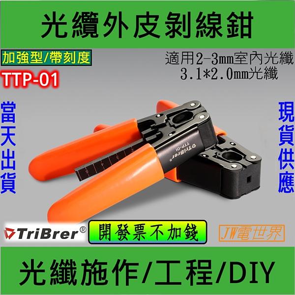 光纖外皮剝線鉗 剝除器 光纖外皮鉗 TTP-01 [電世界1891]