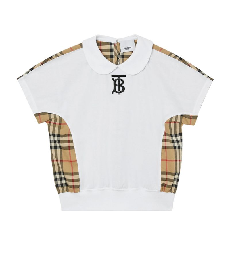 Burberry Kids Vintage Check Polo Shirt (3-14 Years)