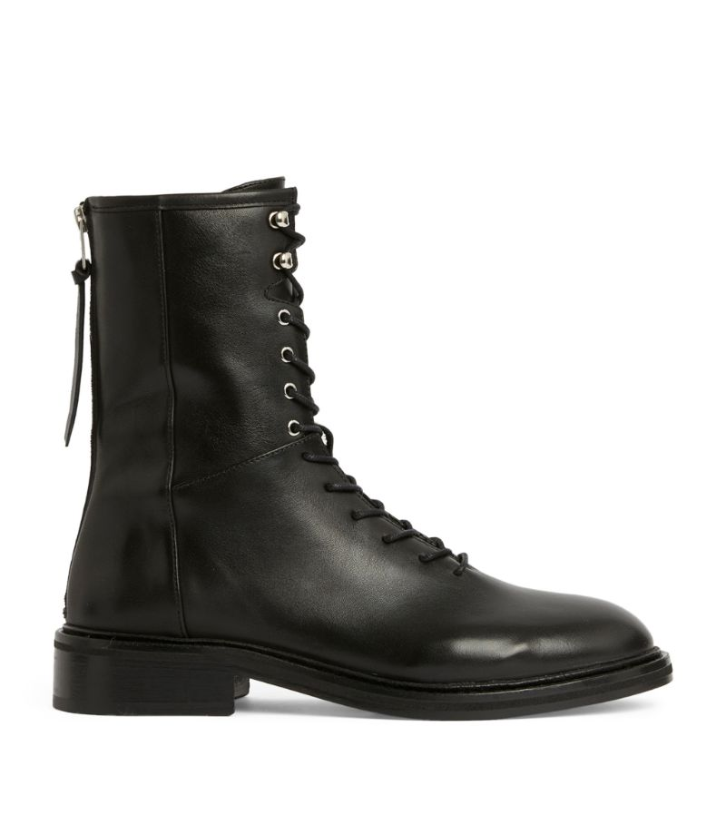 Allsaints Leather Misty Ankle Boots 30