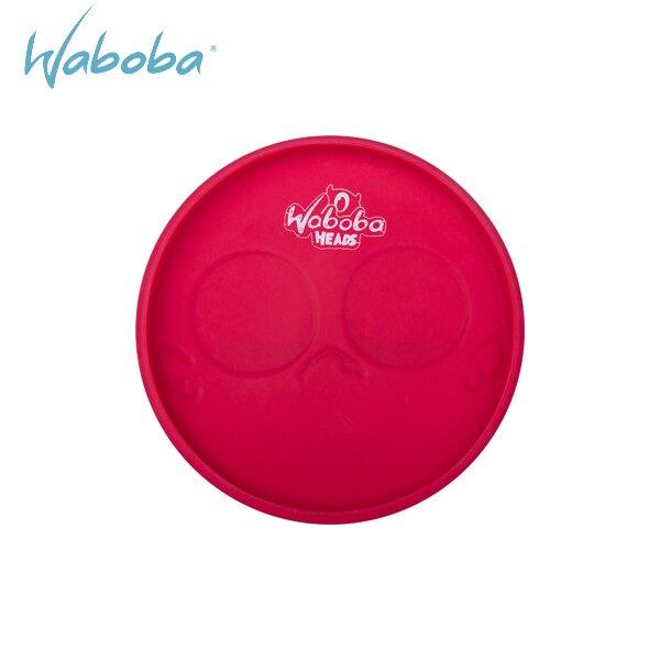 瑞典《Waboba》Super Flying Head – meh / 軟式飛盤 鬼臉飛盤 無趣紅