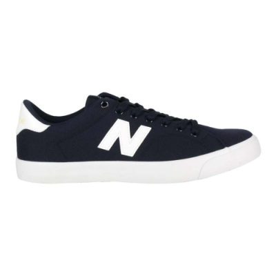 NEWBALANCE 男休閒鞋-NB N字鞋 帆布 210系列 AM210BW 丈青白黃