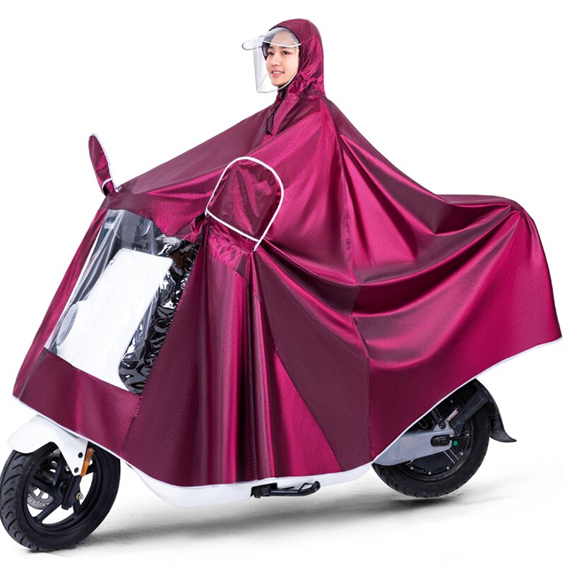 摩托車雨衣 雨衣電動車雨披電瓶車加厚摩托自行車騎行成人單人男女士加大雨衣 【CM2441】