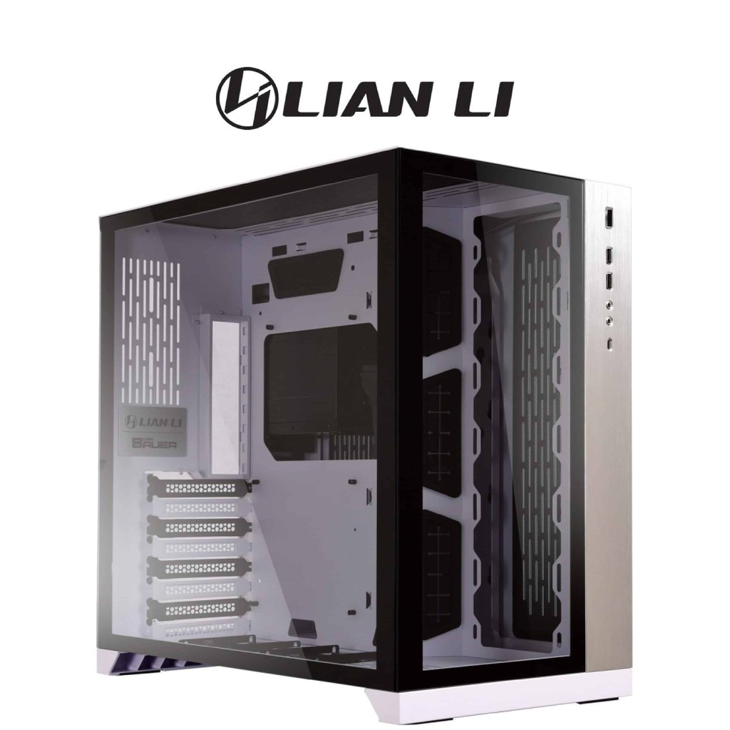 【LIAN LI 聯力】ATX系列電腦機殼 PC-O11 Dynamic 白 機殼 機箱 電腦殼 電腦機殼