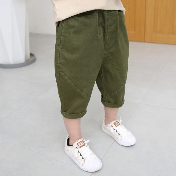 男童短褲 兒童短褲外穿夏季薄款男童純棉中褲哈倫褲男孩寬鬆燈籠褲 凡卡時尚