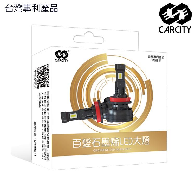 【台灣專利】百變石墨烯大燈|三年保固|石墨烯散熱技術|型號全通用|智能溫控|車規級芯片