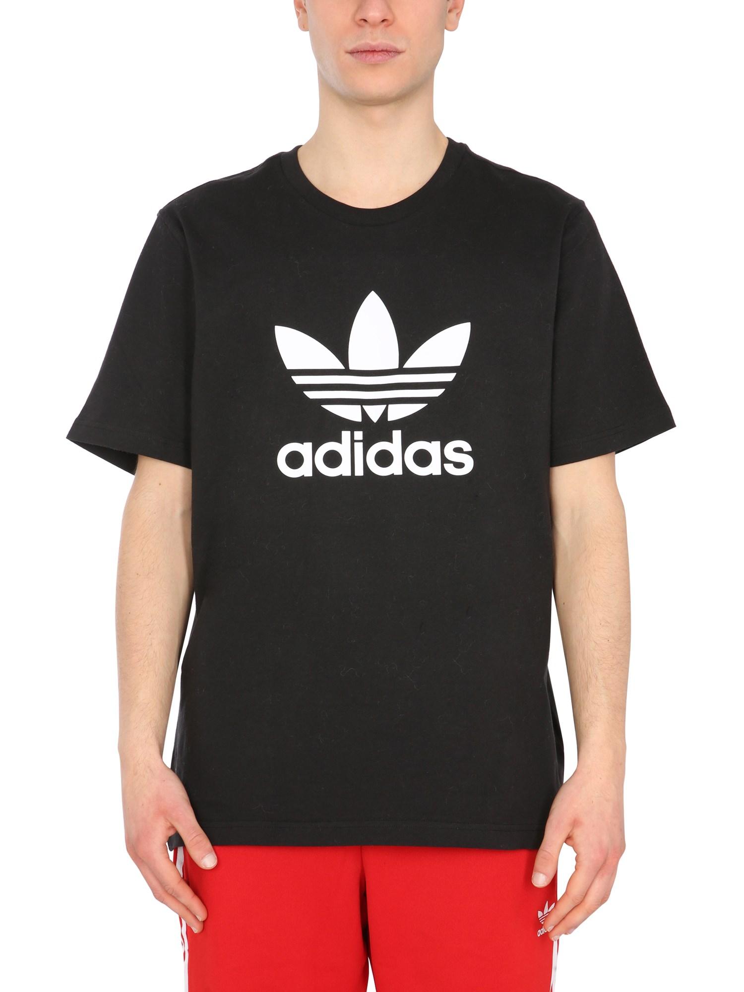 adidas originals crew neck t-shirt
