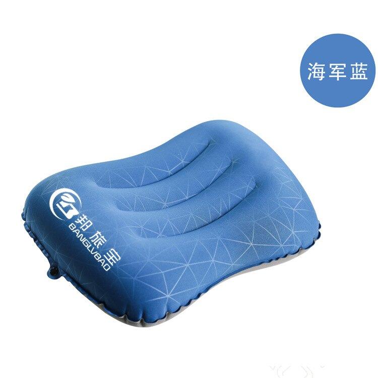 辦公趴睡枕便攜旅行充氣枕頭按壓式充氣枕靠枕戶外露