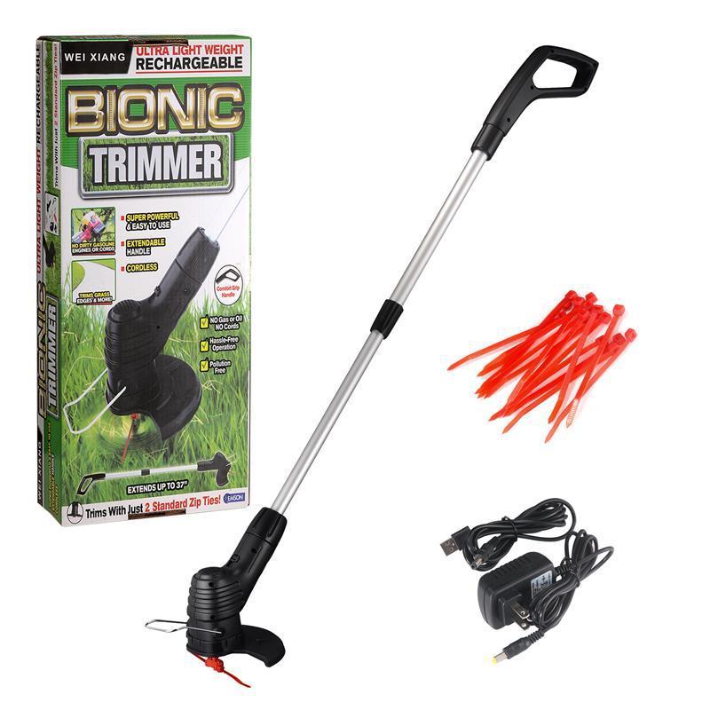 新款割草機家用園林便攜充電式修剪草坪無線小型除草機