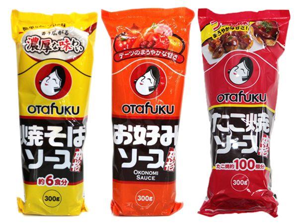 多福~炒麵用醬/大阪燒用醬/本格章魚燒用醬(300g) 款式可選【DS000682】