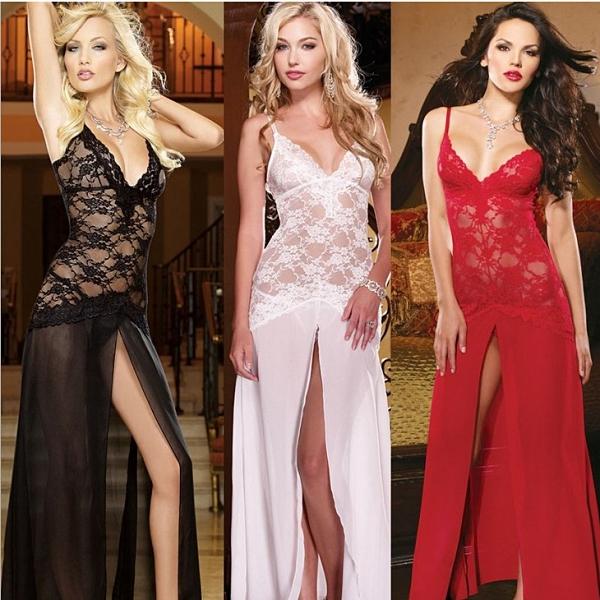 透視禮服 蕾絲洋裝 性感晚禮服 新款長裙禮服透視裝蕾絲透明裙 夜店包臀表演長款連身裙