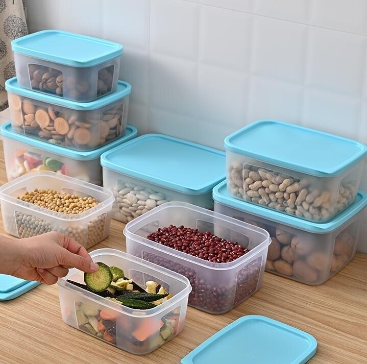 冰箱收納盒 食物專用食品級塑料整理神器保鮮盒子廚房儲物冷凍密封