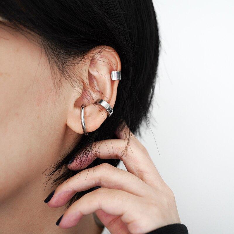 耳骨夾 KANSAI三件套光面耳骨夾簡約嘻哈潮港味森系無耳洞耳環ins酷男女 【CM2689】