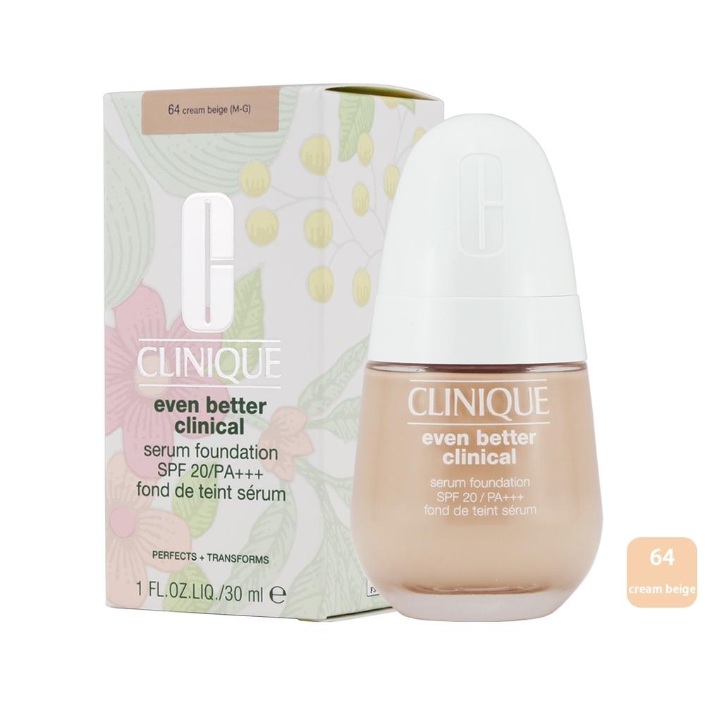 《CLINIQUE 倩碧》神奇精華粉底液SPF20/PA+++30ml-#64 cream beige