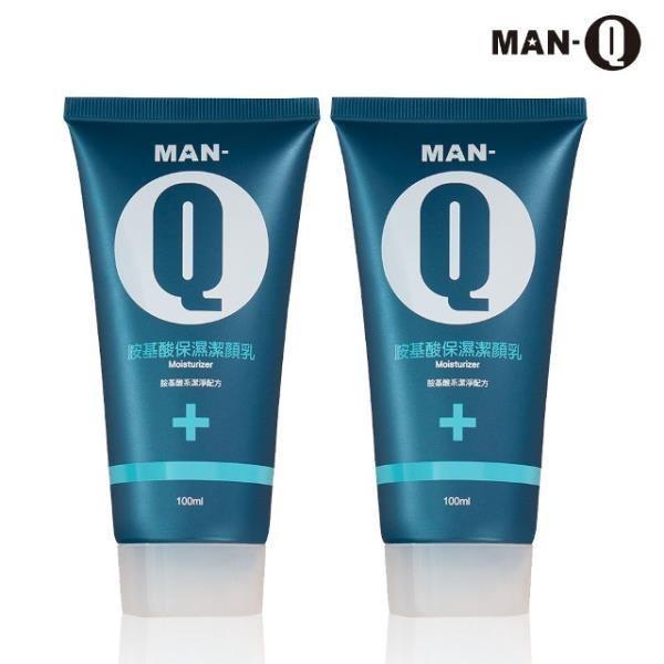 MAN-Q 胺基酸保濕潔顏乳100mlX2
