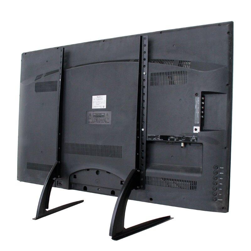 電視機掛架 海信長虹康佳創維海爾樂視液晶電視底座通用桌面支架子萬能腳架『XY17235』