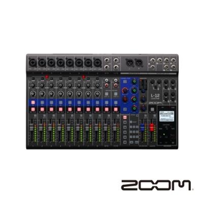 ZOOM Livetrak L-12 數位混音機錄音介面-公司貨