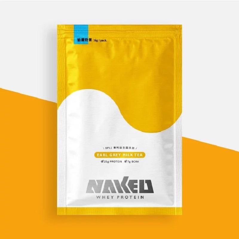 [NAKED] 低糖益生菌乳清蛋白 (36g/包) 伯爵奶茶