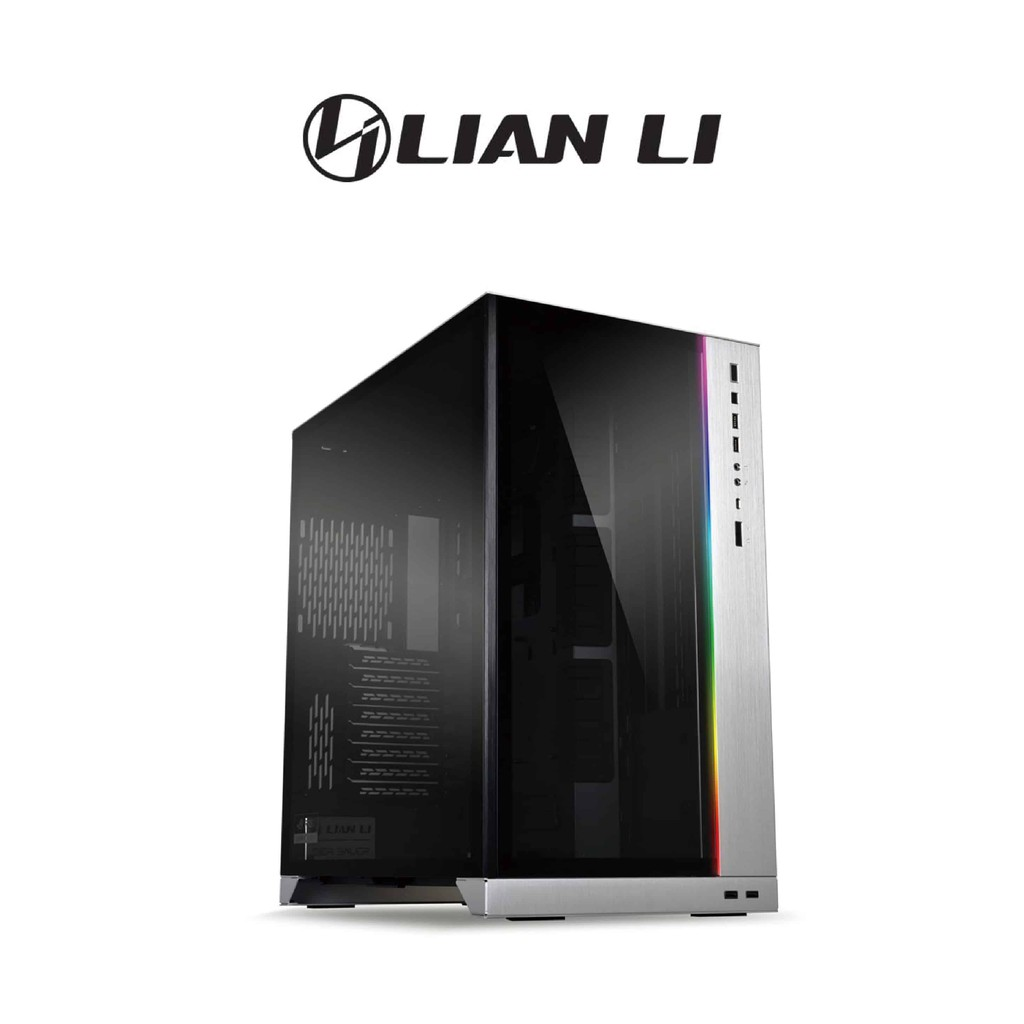 【LIAN LI 聯力】O11 Dynamic XL ROG Certified E-ATX玻璃透側機殼 銀 機殼