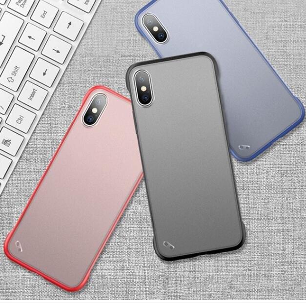 手機殼 蘋果x手機殼11/12promax無邊框iPhone6S7plus8SE防摔保護套12mini