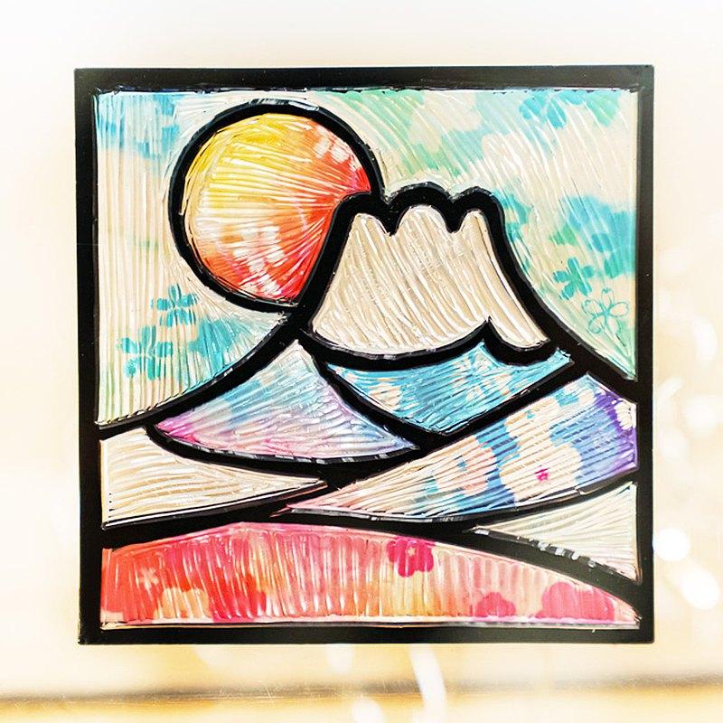 【日本光雕DIY-圖樣】幾何圖形系列-鑽石(S尺寸/現貨)