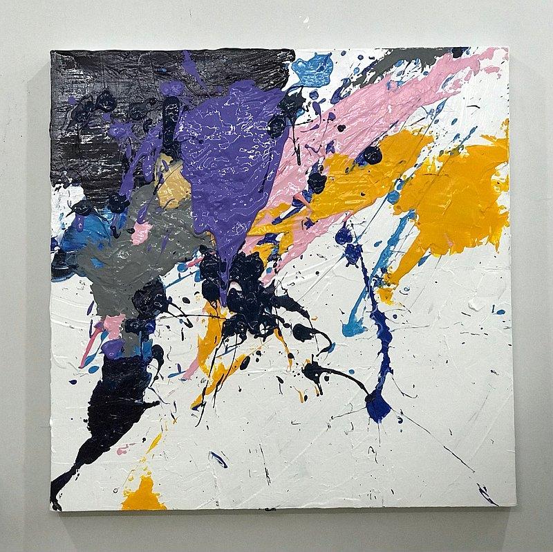 抽象藝術開花