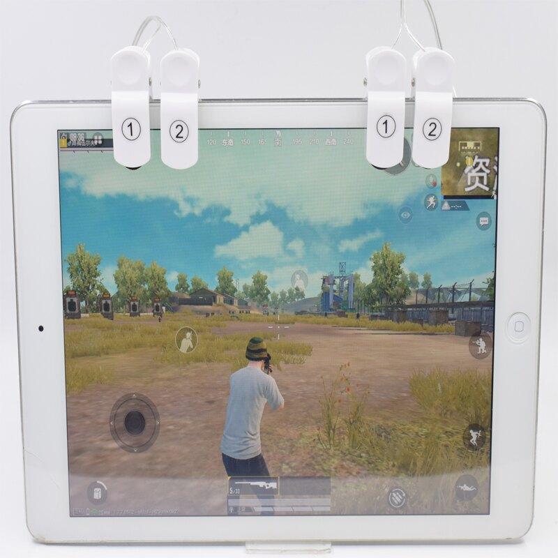 手機平板吃雞神器機械手游柄物理鍵盤按鍵開關安卓ipad專用四六指