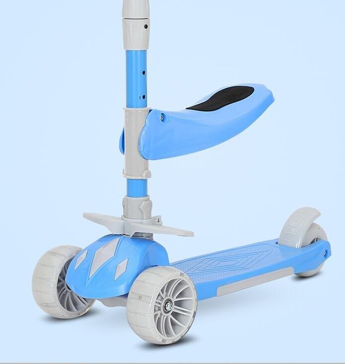 滑板車 滑板車兒童1-3-6-8歲以上可坐可騎滑滑車三合一平衡車溜溜車TW