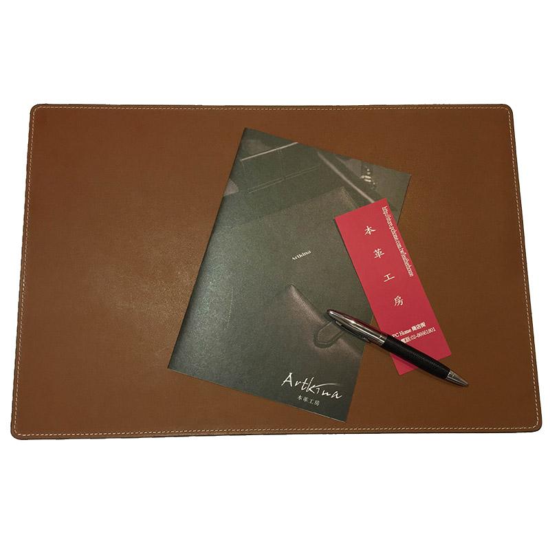 Artkina 優質皮革寫字墊-咖啡