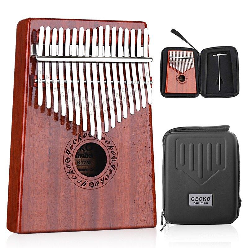 拇指琴卡林巴琴17音初學者21音手指琴kalimba琴學生樂器