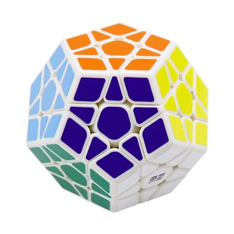 魔方 奇藝三階五魔方12面異形魔方順滑比賽專用學生動腦益智玩具包郵