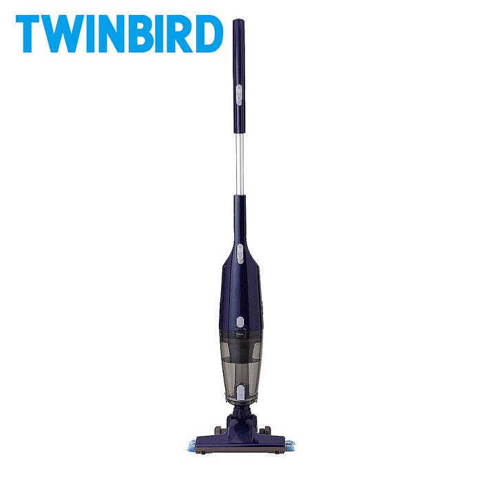 【員購】日本TWINBIRD-吸拖兩用無線吸塵器(藍/象牙白)TC-H107TWBL/TC-H107TWVO象牙
