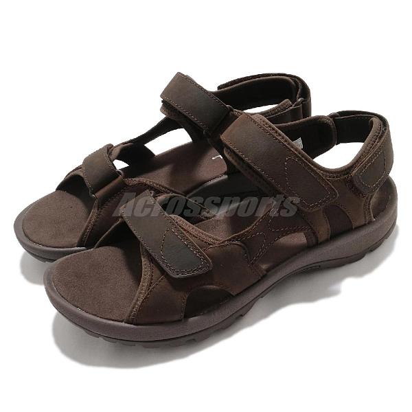 Merrell 涼拖鞋 Sandspur 2 Convert 棕 男鞋 魔鬼氈 戶外涼鞋 涼鞋 【ACS】 ML002711