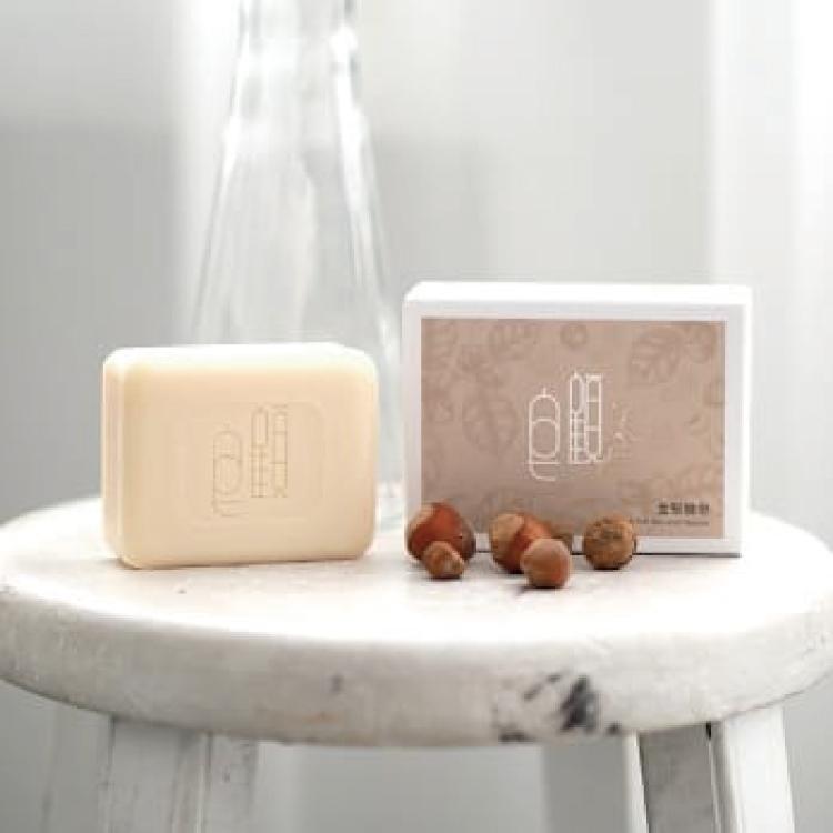 【皂顧】金堅糠皂120g★添加金盞花、堅果油、米糠油,舒緩肌膚不適、淨化毛孔