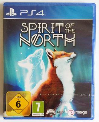 美琪PS4遊戲 北方之靈 靈狐之魂 Spirit of the North 中文英文