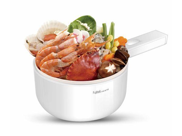 Fujitek 富士電通~萬用料理陶瓷炒菜鍋(FT-PN205)1入 【DS000674】※限宅配/無貨到付款