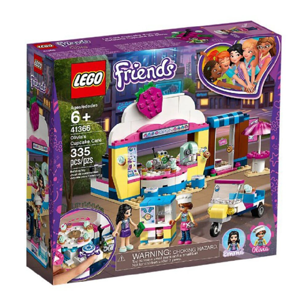 41366【LEGO 樂高積木】姊妹淘 Friends 系列 - 奧麗薇亞的杯子蛋糕屋(335pcs)